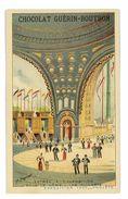 CHROMO IMAGE CHOCOLAT GUERIN-BOUTRON EXPOSITION 1900 LES PROJETS ENTREE A L'EXPOSITION - Guérin-Boutron