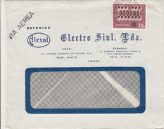 Alexal Electro Siul. Lda. Company Letter Cover Travelled 196? Europa CEPT Stamp B171005 - 1910-... República
