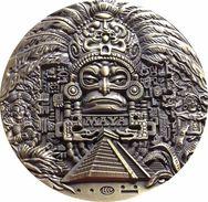 MÉXICO. MEDALLA CONMEMORATIVA DEL CALENDARIO MAYA. BRONCE - Monarquía / Nobleza