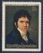"Ruanda Rwanda 1971 Mi 449 A YT 416 ** ""Beethoven"" Painting By C. Horneman (1765-1844) / Gemälde - Muziek"