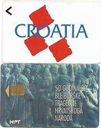 @+ Lot De 2 Cartes De Croatie ( 1 GPT Et 1 à Puce) - Croatie