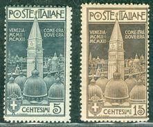 Italy 1912 Campanile San Marco MNH** - Lot. RE97 - 1900-44 Victor Emmanuel III