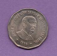 INDIA - 2 Rupia 1996 KM129 - India
