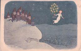 Kreidolf E. Nains Et Noël, Carte Pro Juventute (886) - Other Illustrators