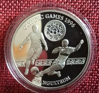 """BHUTAN 300 NGULTRUM 1993 SILVER PROOF """"OLYMPIC GAMES 1996"""" (free Shipping Via Registered Air Mail) - Bhutan"""