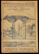 L'ILLUSTRATION ECONOMIQUE Et FINANCIERE : LA HAUTE-MARNE  1927 - Champagne - Ardenne