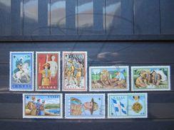 VEND BEAUX TIMBRES DE GRECE N° 705 -  712 , XX !!! - Greece