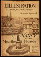 L'ILLUSTRATION ECONOMIQUE Et FINANCIERE : NANCY Et La MEURTHE Et MOSELLE 1923 - Lorraine - Vosges