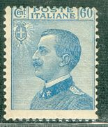 Italy 1923 V.E.III Volto A Sinistra MNH** - Lot. RE157 - 1900-44 Victor Emmanuel III