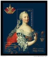Hungary 2017 Mih. 5902 (Bl.401) Empress Maria Theresa (joint Issue Hungary-Austria-Croatia-Slovenia-Ukraine) MNH ** - Hungary