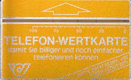 ÖSTERREICH-Wertkarte NR.7-609 G-Qualität Schön-Kat.Preis € 70,00 - Austria