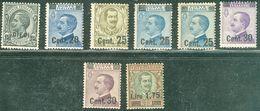 Italy 1924-25 Sovrastampati MNH** - Lot. RE175-182 - 1900-44 Victor Emmanuel III