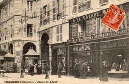 Chambéry . (Savoie) - Place St-Léger . - Chambery