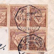 Lettre Portugal Lisboa Lisbonne Timbre Lusiadas Gstaad Suisse - Lettres & Documents