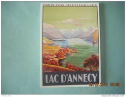 CLOUET  10061  LAC D ANNECY  AFFICHE  CHEMIN DE FER P.L.M       JULIEN - Werbepostkarten