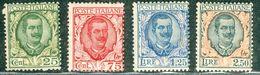 Italy 1926 Floreale MNH** - Lot. RE 200-203 - 1900-44 Victor Emmanuel III