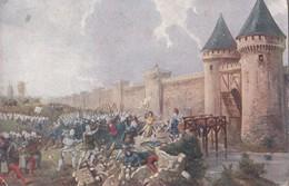 9ème Tableau, Jeanne D'Arc Attaque De La Porte St Honoré à Paris (état Moyen) - History