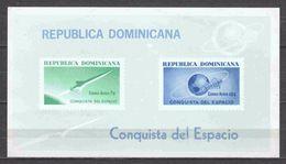Dominican Republic 1964 Mi Block 34 MNH SPACE - Space