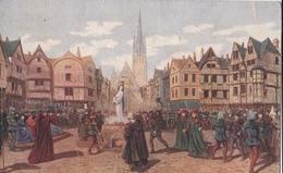 10ème Tableau, Jeanne D'Arc Est Brûlée à Rouen (état Moyen) - History