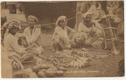 Penang Fruit And Vegetable Vendors  No 12 The Federal Rubber Stamp Co  P. Used 1924 - Malasia
