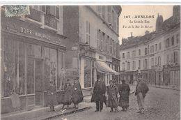 AVALLON - La Grande Rue - Très Bon état - Avallon