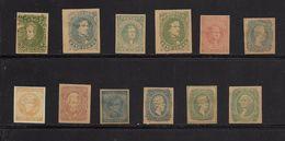 ETATS CONFEDERES 1861/64 FAC-SIMILES  YVERT N°1/12 NEUF MH* - 1861-65 Stati Confederati