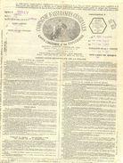 Quittance De Police D'assurance  13  Mai 1923  Compagnie D'Assurances Générales  L.CHAPEAUX-4 Rue Des Casernes  GRAY - Bank & Insurance