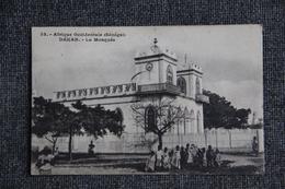DAKAR - La Mosquée, Timbre Au Verso - Sénégal