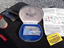 Briquet De Collection RONSON Varaflame Avec Nombreux Accessoires. Voir 7 Photos - Briquets
