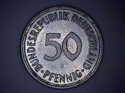 ALLEMAGNE - 50 PFENNIG 1950 J - [ 7] 1949-… : FRG - Fed. Rep. Germany