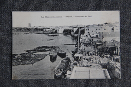 Campagne Du MAROC - RABAT - Panorama Du Port - Guerres - Autres