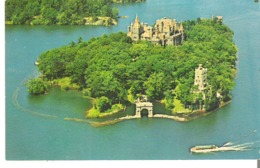 Thousand Islands, New York Air View Of Heart Island, Boldt Castle, Picturesque Replica Of An Old German Castle - NY - New York