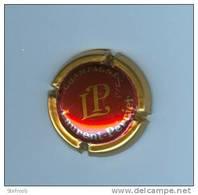 Champagne  -  LAURENT - PERRIER - Rode Kroonurk Met Gouden Lettersen Gouden Rand - Laurent-Perrier