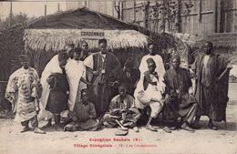 ROUBAIX Exposition 1911.Village Sénégalais.Les Cordonniers - Roubaix