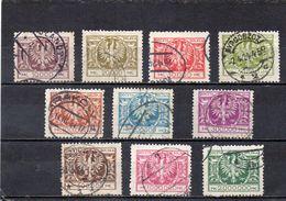 POLOGNE 1924 O - 1919-1939 République