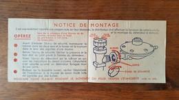 Notice De Montage Détendeur Butagaz. - Electricity & Gas