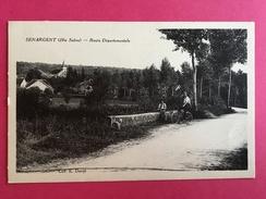 70 HAUTE SAONE, SENARGENT, Route Départementale, Animée, Pêcheur, Le Scey, 1939, (E. David) - Autres Communes
