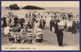 64 BIARRITZ L'heure Du Bain - Animée - Biarritz