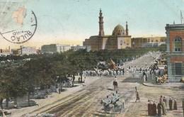 EGYPTE  CPA   LE CAIRE COLORISEE ARRIVEE DU MAHMEL - Le Caire