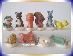 Animaux Calins ... Série Complète ... Ref AFF : 83-2005 .. (pan 0038) - Animals