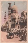 EGYPTE  CPA    LE CAIRE  COLORISEE  MOSQUEE DE KHAIRBEK - Le Caire