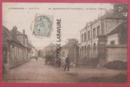 27 - SAINT CYR DU VAUDREUIL----La Mairie--Animé - Francia