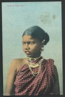 "N° 65 - Platé Ltd , Ceylon - "" Head Of Tamil Girl ""   Odi07 - Sri Lanka (Ceylon)"