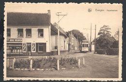 +++ CPA - EVERGEM - Kappellestraat - Nels - Tram - Café   // - Evergem