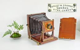 Appareil Photo, Chambre Anglaise 13 X 18 « Morlay & Cooper S » Bon Etat - Cámaras Fotográficas
