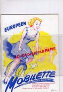 75- PARIS-PROGRAMME OPERETTE BOBINO- BRUNO COQUATRIX-MOBILETTE-DERGE VEBER- HORNEZ- JEAN MARC THIBAULT- SUZY DELAIR- - Programmes