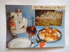 CPSM - LES BOUCHEES A LA REINE - RECETTE - R6456 - Recipes (cooking)