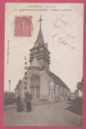 27 - SAINT CYR DU VAUDREUIL----- L'Eglise Le Calvaire---Animé - Francia