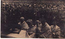 UKRAINE Holiday Of Harvest. German Military. Priests. Stanislavov, Stanislav - Ukraine