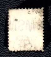 XP3426 - NEW SOUTH WALES , 2 Pence Usato . Annullo. Filigrana Capovolta : Crown On NSW  Inverted CAPOVOLTA - 1850-1906 New South Wales